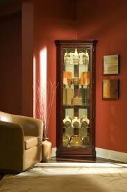 Corner Kitchen Curio Cabinet Pulaski Victorian Cherry Corner Curio Cabinet 20205