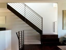 View in gallery A modern metal handrail