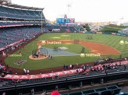 Angel Stadium Of Anaheim Seating Chart Map Seatgeek