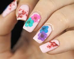 100+ [ Simple Flower Nail Art ] | 7 Flower Nail Art Designs For ...