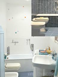 Rivestimenti Bagno Verde Acqua : Home made improvement dipingere le piastrelle u tulimami
