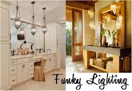 funky bathroom lighting. Amazing Of Funky Bathroom Lights Lighting To Update Your Space Home Decorating Blog M