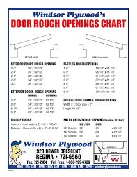 Double Door Closet Rough Opening House Garage Door Sizes