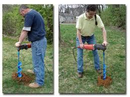 garden auger. Post Hole Auger Drill Augers Custom Garden Bit