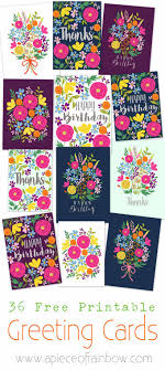create your own christmas cards free printable free printable flower greeting cards a piece of rainbow