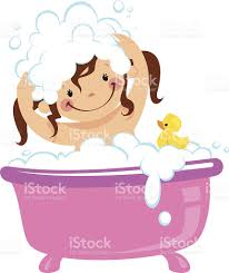 shower tub clipart. Taking A Bath Clip Art, Vector Images \u0026 Illustrations Shower Tub Clipart B