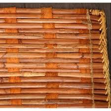 bamboo rug 4x6 chestnut woven natural rattan area 4 x 6 bamboo rug