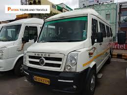 ac 17 seater tempo traveller in odisha
