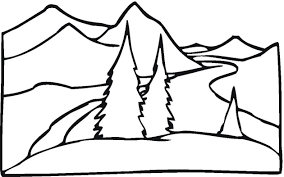 Small Picture Free Landscape Coloring Pages