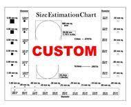 Size Estimation Chart Transparency Ryan Quality Control