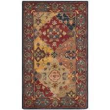 safavieh heritage red traditional rug runner 2 3 x 4 rugs carpets best canada
