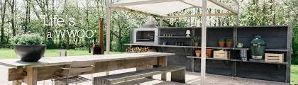 WWOO outdoor kitchen buitenkeuken