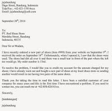 complaint letter to a shoe company letter simple example how to write a letter of complaint to a company write a complaint