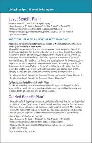 life insurance mutual of omaha living promise brochure
