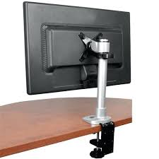 desk dual computer monitor arms desk mount computer screen desktop organizer thumbnail 5 for monitor