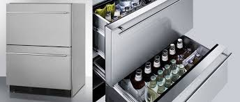 sp6ds2dos7 summit 24 outdoor drawer refrigerator