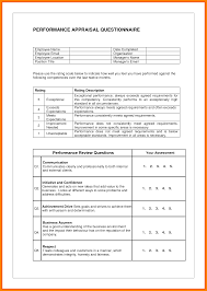 Format Of Performance Appraisal Form 24 Performance Appraisal Sample Obituary Template 12