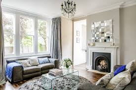 glass ball chandelier living room victorian with mirror centrepiece transitional chandeliers