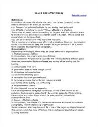 essay outline causal essay outline