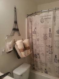 Paris Themed Bedroom Curtains Paris Themed Bathroom Shower Curtains And Eiffel Tower Decor