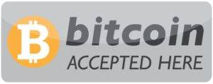 Image result for bitcoin accepted here logo