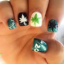 Nail Designs With Weed ~ Weed nail art designs ideas design trends ...