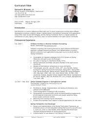 Resume Examples United States Cv Resume Sample Architect Resume