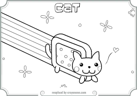 Small Picture Nyan Cat Coloring Pages Coloring Pages Ideas Reviews
