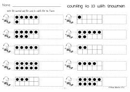 Kindergarten Ten Frame Math Worksheets Kindergarten Bestens Number ...