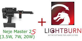 (Updated) Lightburn Setup for the <b>Neje Master 2S</b> (Auto-Homing, 32 ...