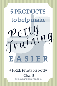 5 Products To Help Make Potty Training Easier Anxious And