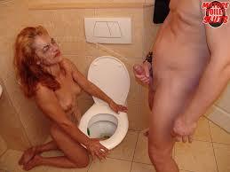 Mature Toilet Sluts Horny Mature Slut Licking Ass And Sucking Cock.