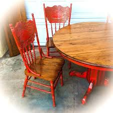 country kitchen table set farmhouse kitchen table and chairs w leaf oak dining room table red country kitchen table set