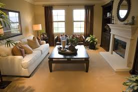 Two Sofa Living Room Design Living Room Contemporary White And Dark Brown Living Room Design