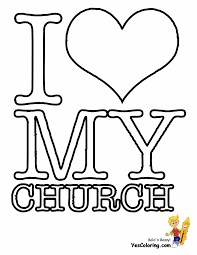 Small Picture Church Coloring Pages For Kids esonme