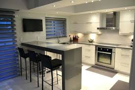 modern kitchen ideas 2012. Modren Modern Medium Size Of Small Modern Kitchen With Gray Quartz Counter Peninsula  And White Cabinets Designs Design In Ideas 2012 R