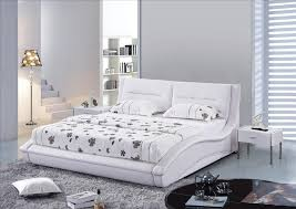 modern bedroom with white leather queen headboard genuine regard to headboards for size bed prepare 13