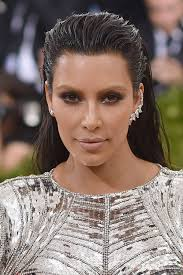 for the 2016 gala kardashian west paraded his well known bleached blond eyebrows on the crimson carpet to repeat her edgy make up you may ply with