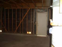 fix exterior door frame partially