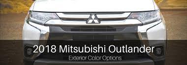 Mitsubishi Color Code Chart New 2018 Mitsubishi Outlander Exterior Color Options