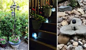unique outdoor lighting ideas. Although It Is Not The Best Time To Talk About Outdoor Lighting, Ideas  Of Solar Powered Light Here Definitely Worth Saving For Next Year\u0027s Unique Lighting A