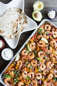 sheet pan shrimp fajitas sheet pan shrimp fajitas in 30 minutes house of nash eats