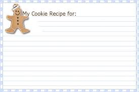 Christmas Recipe Cards Template Printable Christmas Cookie Recipe Cards Belly Bytes