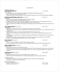 Gallery Of Sample Copy Editor Resume 7 Free Documents Download In