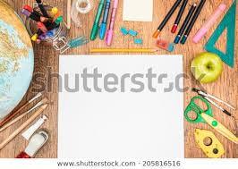 school desk top view. Delighful View Top View Of School Accessories On A Desk With Copy Space On School Desk View T