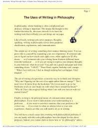 writing philosophy papers a student guide 4 introduction writing philosophy papers