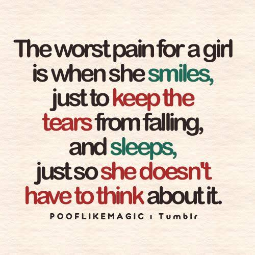 quotes about tears falling