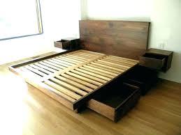 Floor Bed Ikea Floor Bed Platform Bed Platform Storage Bed Queen