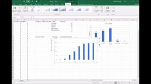 Excel Distribution Chart Video Excel Simple Frequency Distribution Tables And Charts