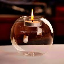Decorative Ball Holder 6060inch Diameter Glass Ball Candle Holders Home Decoration Vintage 48